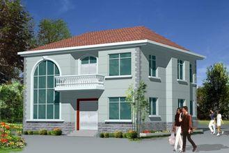 China Helles Stahlrahmen-Haus/Fertighäuser für Landhaus fournisseur