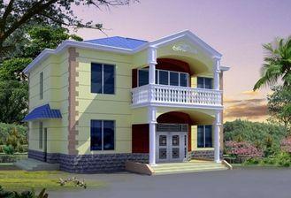 China CER Zertifikat-Fertigstahlhaus, helles Stahlkonstruktions-Haus-Landhaus fournisseur