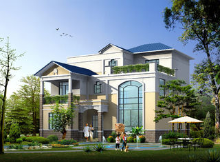 China Fertighaus, vorfabriziertes ländliches Landhaus mit hellem Stahlrahmen fournisseur