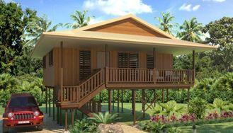 China Feiertags-Thailand-Holzhaus-Bungalow, KOH Samui-Strand-Bungalows fournisseur