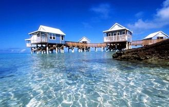 China Erholungsort Overwater-Bungalow fournisseur