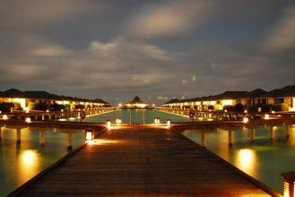 China Hölzerner Wasser-Bungalow für Malediven, Hotel des Fertighaus-20,30,40SQM fournisseur