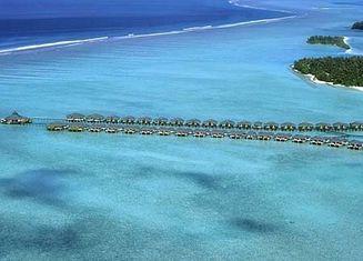 China Belize/Bungalow Malediven Overwater mit hellem Stahl, über den Wasser-Bungalows fournisseur