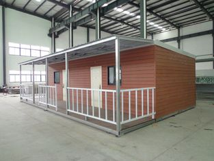 China Dreifache breite Wohnmobile, einfacher Demontage-bewegliche modulare Häuser fournisseur