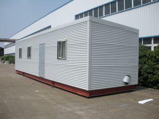 China Hohes Isolierung Eco-Blockhaus-modulare Häuser, grüne modulare Klotz-vorfabrizierthäuser fournisseur