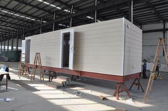 China Bewegliches Kabinen-vorfabrizierthaus/Stahlrahmen-modulare vorfabrizierthäuser für Wachhaus fournisseur