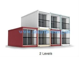 China Modularer Fertigbehälter ISO 40HQ steuert, Wasser-Beweis-Versandverpackungs-Häuser automatisch an fournisseur