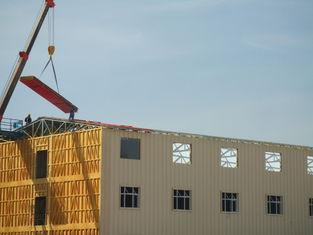 China Widerstehen heller Stahl vorfabrizierte Wohngebäude, Schnee tragbarem Haus fournisseur