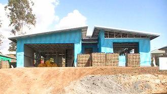 China Fertighaus-Ausrüstungen/einfaches zusammengebautes modulares Haus-Ausrüstungen/Li ght Stahlfeld-Haus fournisseur