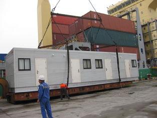 China Architekt entwarf modulare Häuser/Licht-breiten modularen StahlTabernakel fournisseur