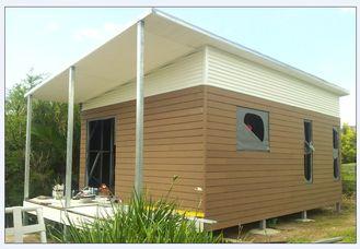 China Helle Stahlkonstruktions-australische Oma-flaches/faltbares Haus mit Leichtgewichtler fournisseur