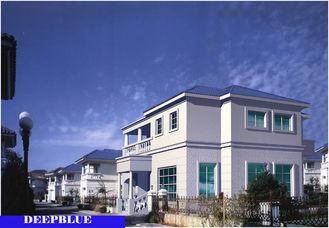 China Europäische Art fabrizierte Landhaus-/helles Stahlruhm-Haus der hohen Qualität vor fournisseur