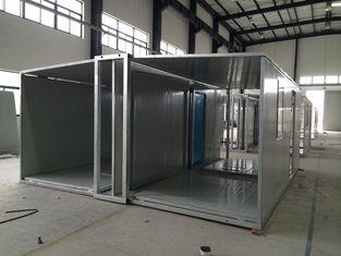 China Faltbare tragbare Notfamilie schützt lutos Haus-Sandwichplatten fournisseur
