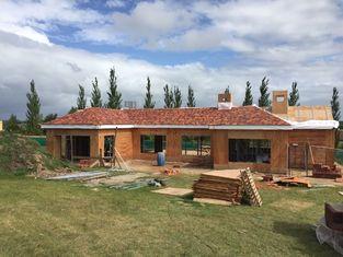 China Helles Stahlbeton-Platten-China-Fertighaus/einfaches Installations-Landhaus fournisseur