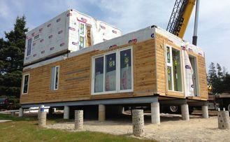 China Modulares Geschoss-helles Messgerät-Stahl-Landhaus des Gebäude-Fertighaus-zwei fournisseur