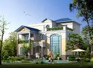 China Fertighaus, Licht-Stahlkonstruktions-Haus-Landhaus usine