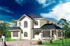 Weißes Licht-Messgerät-Stahlfertiglandhaus/Architekturfertighaus steuert Amerika-Standard automatisch an