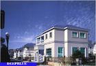 Europäische Art fabrizierte Landhaus-/helles Stahlruhm-Haus der hohen Qualität vor