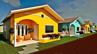 China Berufsentwurfs-Fertigbungalow steuert kleine moderne modulare Häuser automatisch an distributeur