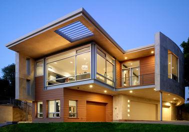 Luxuriöses vorfabriziertes Stahlhaus/Licht-Stahlrahmen-Fertigmetallhaus usw.