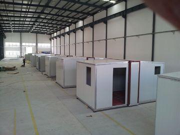 China Faltbarer tragbarer Schutz der hohen Qualität Not/Nach-Unfall Wohnung/Sandwich-Platten-Wohnung distributeur