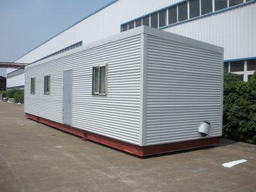 China Hohes Isolierung Eco-Blockhaus-modulare Häuser, grüne modulare Klotz-vorfabrizierthäuser distributeur