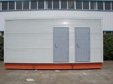 China Multifunktionsstahlrahmen-modulare vorfabrizierthäuser für bewegliche Toilette/Büro distributeur