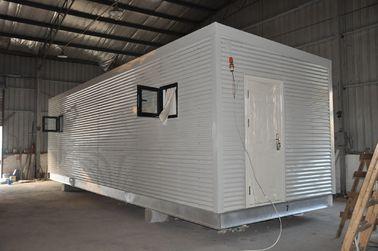 China Stahlrahmen-modulare vorfabrizierthäuser, bewegliches Wachhaus für das Leute-Leben distributeur