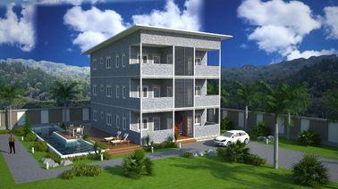 Stahlkonstruktions-vorfabrizierte Wohngebäude SOHO, vorfabrizierte Wohnungen