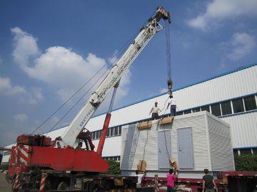 China Australischer Bergbau bevorzugte moderne modulare Häuser/große modulare Klotz-Häuser distributeur