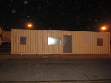 China Breiter Nach-Unfall moderne modulare Häuser, helle modulares Ausgangsstahlausrüstungen distributeur
