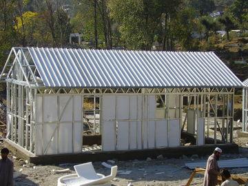 China Schnell bauen Sie kleines Stahlrahmen-vorfabrizierthaus/tragbare australische Oma-Ebene für das Leben zusammen distributeur