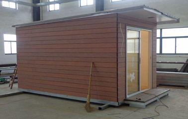 China Helles Stahlkonstruktion Ferienhaus/fabrizierte Garten-Studio für Feiertags-Leben vor distributeur