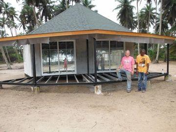 Neuer Entwurf Fertig-Bali-Bungalow, Overwater-Bungalows für Küste